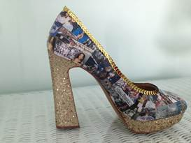 """""""Show us your Shoes"""" judges' choice winner: Judy Dale from Egg Harbor Township, NJ"""