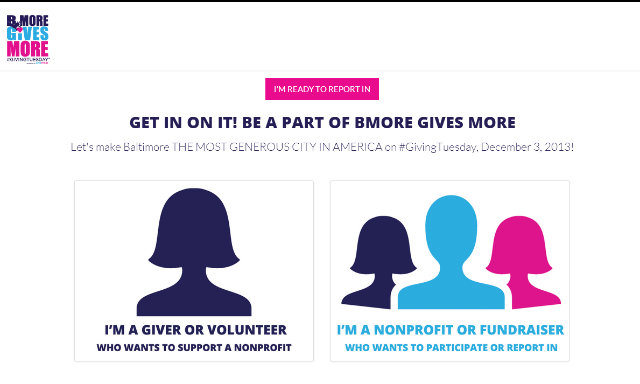 Bmore Gives More Powered by GiveCorps