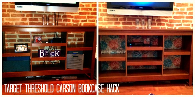 ... testing: Hacking the back panel of a Target bookcase | RLB, Ink