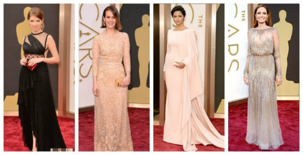 Oscars - Worst dressed 2014