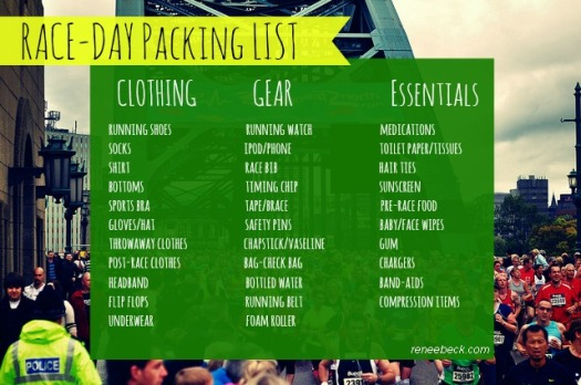 Race-Day Packing List