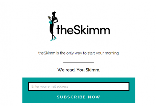 theSkimm   We read. You Skimm.