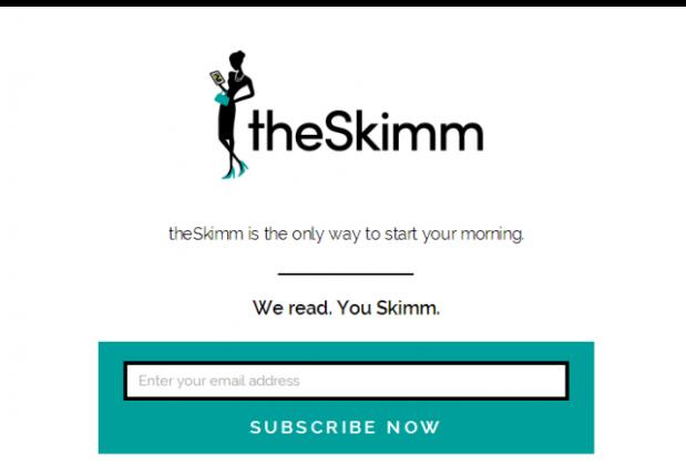 theSkimm   We read. You Skimm.