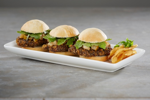 Pecan Chicken Sliders from Gordon Biersch