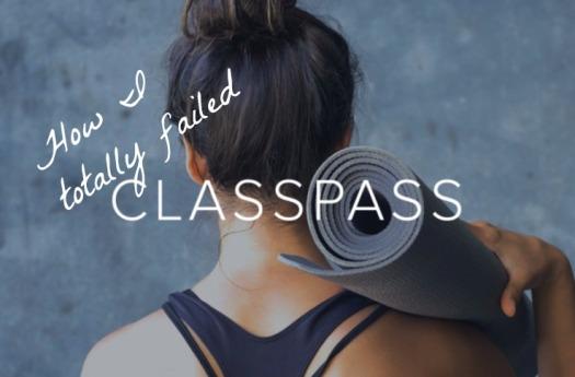 Classpass review
