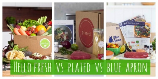 Hello Fresh Plated Blue Apron review