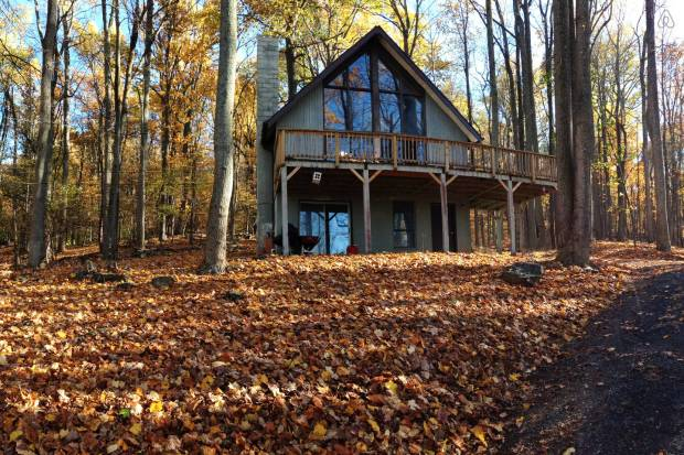 Zach's epic retreat -- but imagine lots of snow and ice. And deer.