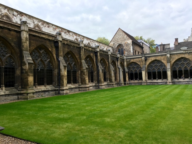 Cloisters at Westminster Abbey