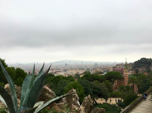 Best view of Barcelona, right here