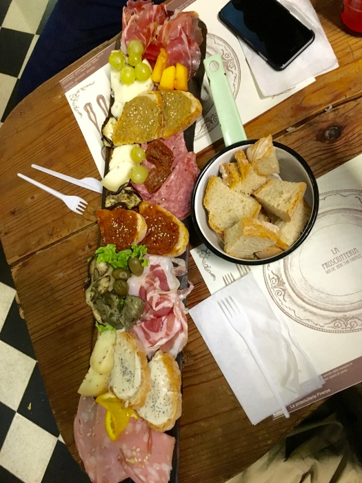 Look at that charcuterie! AMAZING.