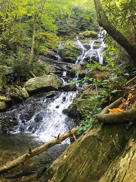 catawba falls near asheville